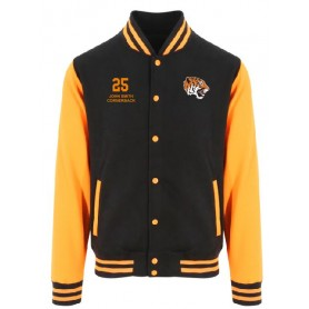Thames Valley Tigers - Customised Embroidered Varsity Jacket