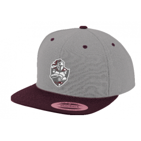 Northants Knights - Embroidered Two Tone Snapback Cap