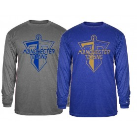 Manchester Titans - Printed Pro Heather Longsleeve T Shirt