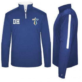 Manchester Titans - Embroidered Sideline 1/4 Zip