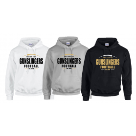 Outlaw Flag Gunslingers - Laces Logo Hoodie