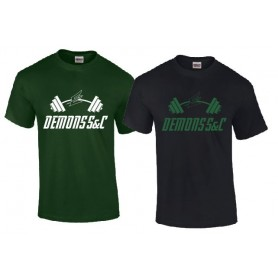 Exeter Demons - S And C Logo T Shirt
