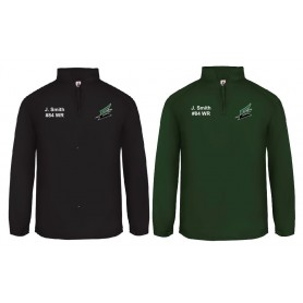 Exeter Demons - Customised Embroidered 1/4 Zip Poly Fleece Pullover