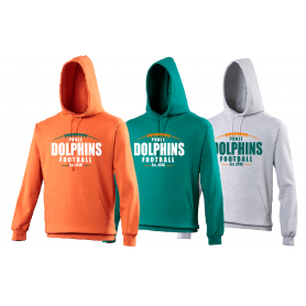 Poole Dolphins - Laces Logo Hoodie
