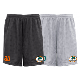 Poole Dolphins - Customised Embroidered Mesh Shorts