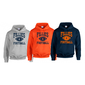 Grangemouth Fillies - Custom Ball 1 Logo Hoodie