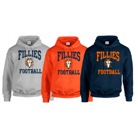 Grangemouth Fillies - Football Logo Hoodie