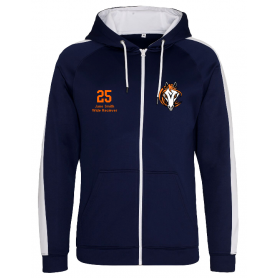 Grangemouth Fillies - Embroidered Sports Performance Zip Hoodie