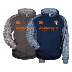 Grangemouth Fillies - Printed Sports Blend Hoodie