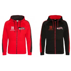 East Kilbride pirates - EKPW Embroidered Sports Performance Zip Hoodie