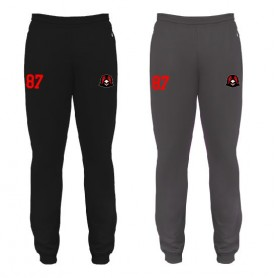 Humber Warhawks - Badger Embroidered Slim Fit Cuff Joggers