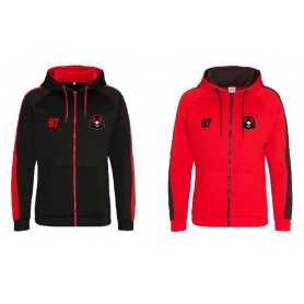 Humber Warhawks - Embroidered Sports Performance Zip Hoodie