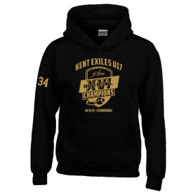Kent Exiles - Kent Exiles Youth 2019 National Champs Kids Hoodie