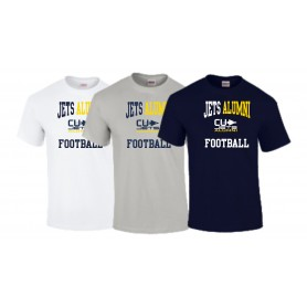 CU Jets Alumni - Football Logo T Shirt