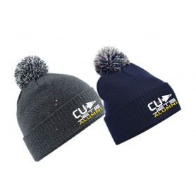 CU Jets Alumni - Embroidered Bobble Hat