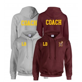 Southampton - Printed and Embroidered Coach Hoodie