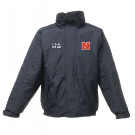 Northumbria Mustangs - Custom Embroidered Heavyweight Dover Rain Jacket