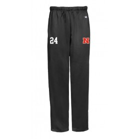 Northumbria Mustangs - Embroidered Badger Open Bottom Joggers