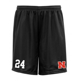 Northumbria Mustangs - Embroidered Mesh Shorts