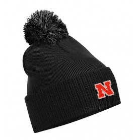 Northumbria Mustangs - Embroidered Bobble Hat
