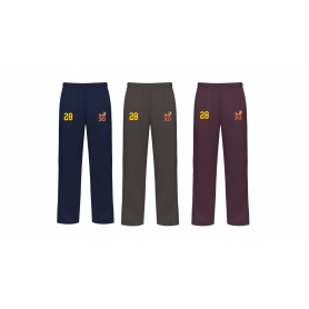Southampton Stags - Embroidered Open Hem Joggers