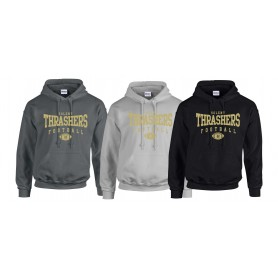 Hampshire Thrashers - Custom Ball Logo Hoodie 2