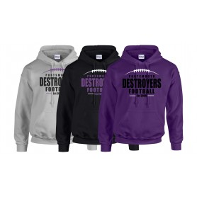Portsmouth Destroyers - Laces Logo Hoodie