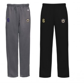 Peterborough Royals - Embroidered Badger Open Bottom Joggers