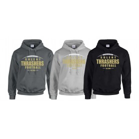 Hampshire Thrashers - Laces Logo Hoodie