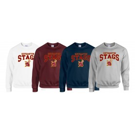 Southampton Stags - Stags Text Logo Sweat Shirt