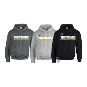Hampshire Thrashers - Split Text Logo Hoodie