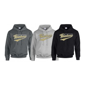 Hampshire Thrashers - Script Text Logo Hoodie