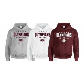 London Olympians - Custom Ball Logo Hoodie 2