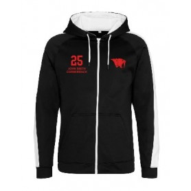 East Essex Sabres - Embroidered Sports Performance Zip Hoodie