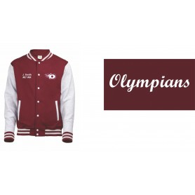 London Olympians - Embroidered Varsity Jacket