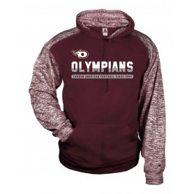London Olympians - Split Text Logo Sport Blend Hoodie