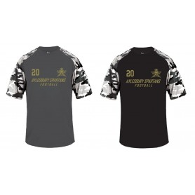 Aylesbury Spartans - Printed Camo Performance T Shirt