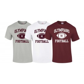 London Olympians - Custom Ball Logo T-Shirt 1