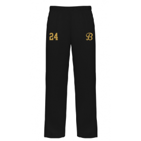Brunel Burners - Embroidered Open Bottom Joggers