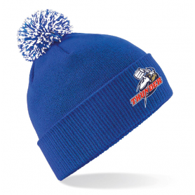 Sussex Thunder - Embroidered Bobble Hat