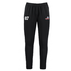 Sussex Thunder - Embroidered Zipped Pocketed Slim Fit Track Trousers