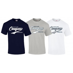 South West London Cougars - Script Logo Youth T Shirt