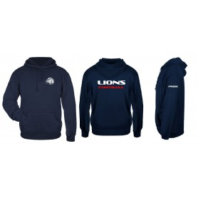 Birmingham Lions Academy - Coaches Print And Embroidered Poly Fleece Hoodie