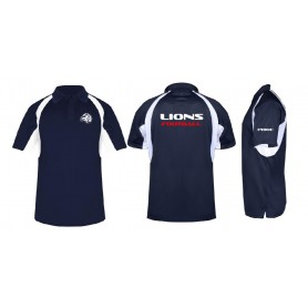 Birmingham Lions Academy - Coaches Printed And Embroidered Hook Polo Shirt