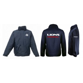Birmingham Lions Academy - Coaches Printed And Embroidered Heavyweight Dover Rain Jacket