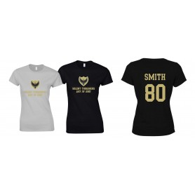 Solent Thrashers - Women's Fit Custom Club Logo T-Shirt
