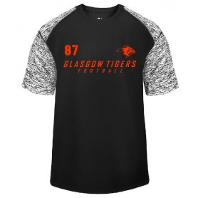 Glasgow Tigers - Custom Text Logo Blend Performance T Shirt