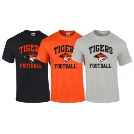 Glasgow Tigers - Tigers Football Logo T Shirt