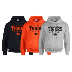 Glasgow Tigers - Custom Ball Hoodie 2