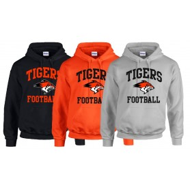 Glasgow Tigers - Tigers Football Logo Hoodie